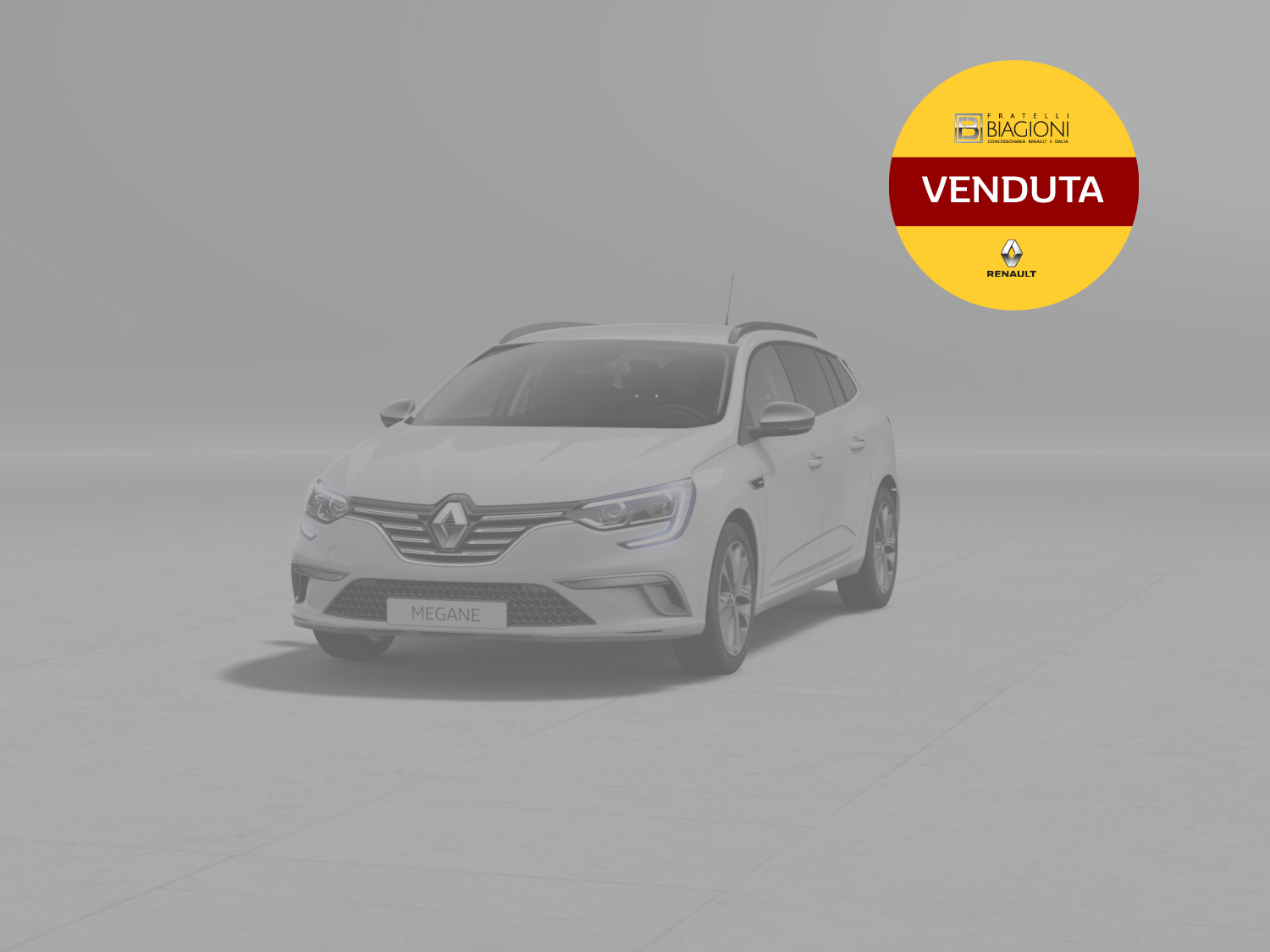 NUOVA MEGANE BERLINA INTENS Energy dCi 110